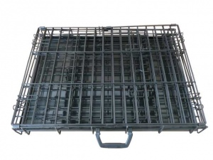 24 Inch Ellie Bo Standard Small Dog Cage In Black Only